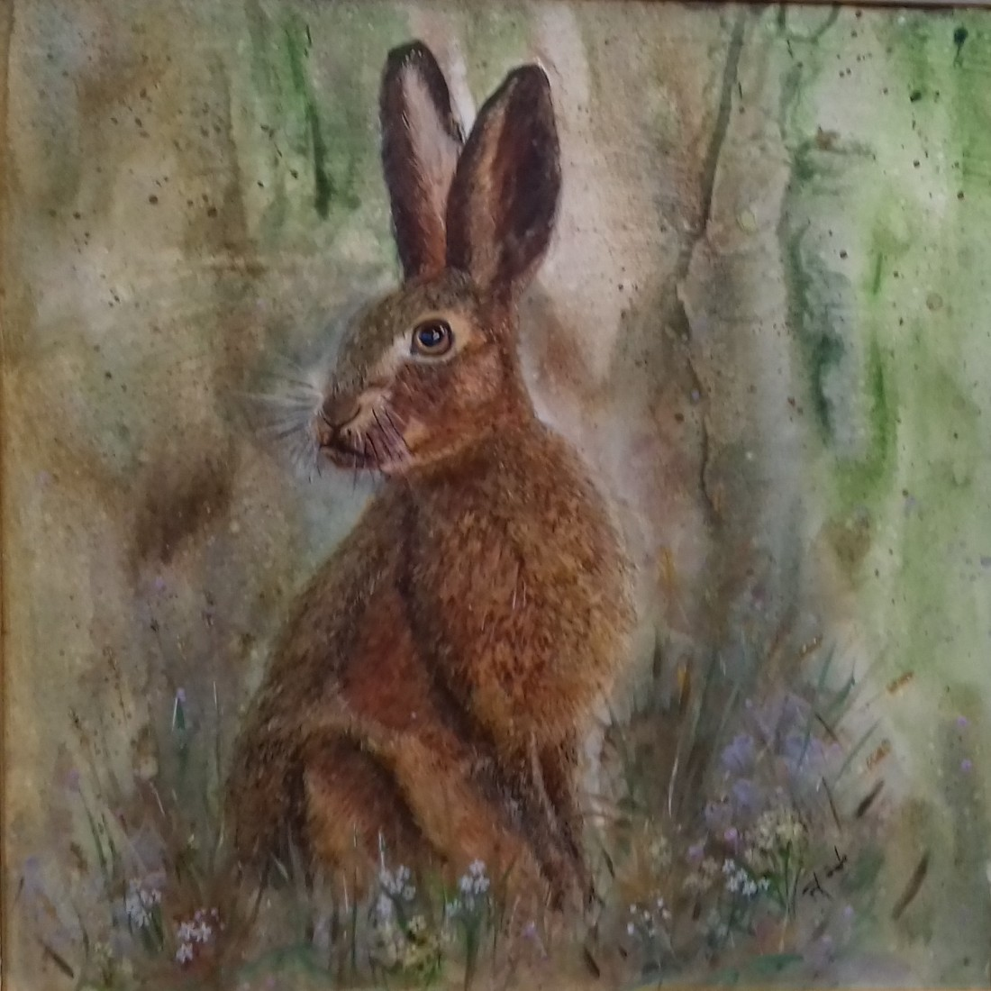 Brown Hare by Rita Poole - The winner!
