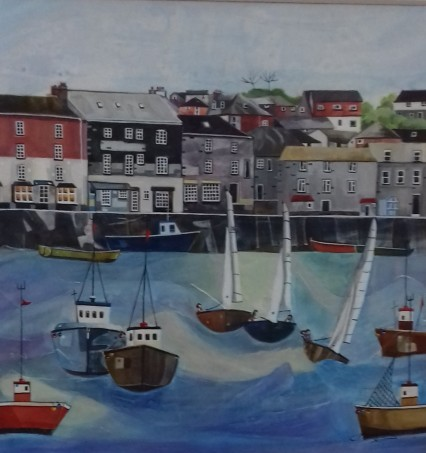 Padstow Harbour by Anya Simmons